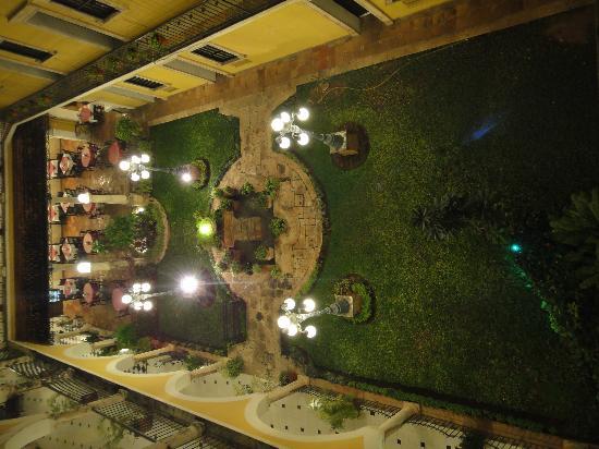 Caribe Hotel: vue dans haut