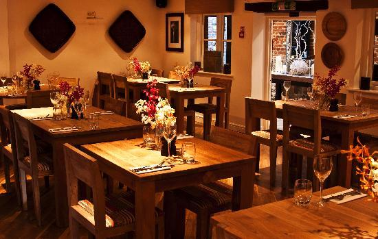 The Swan Inn Chiddingfold: Restaurant