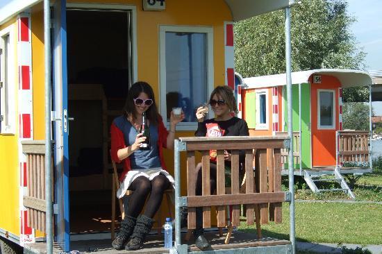 Camping Zeeburg: Wagonette