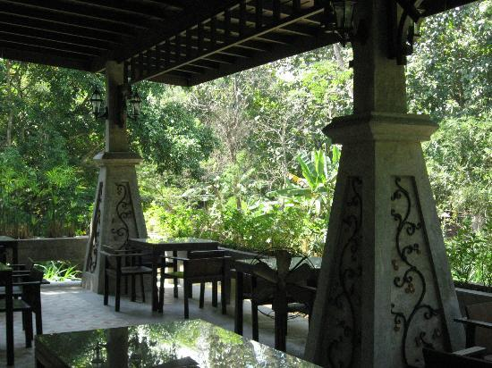 At Nata Chiangmai Chic Jungle: Dining Area by the stream