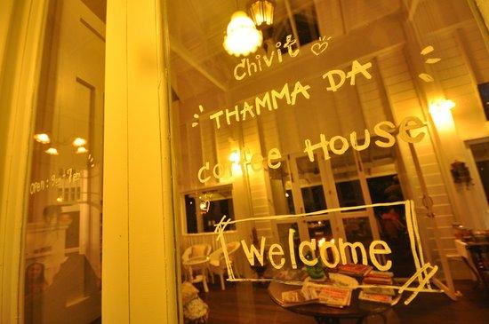 Chivit Thamma Da Coffee House & Bistro: OPEN 9AM - 7PM