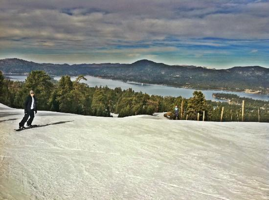 Snow Summit: Great snow, not very crowded on many runs