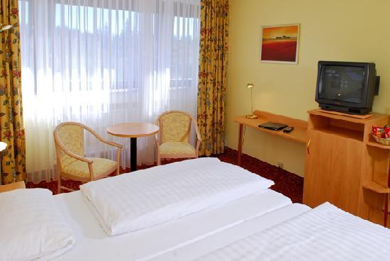Oberhof, Tyskland: Hotelzimmer
