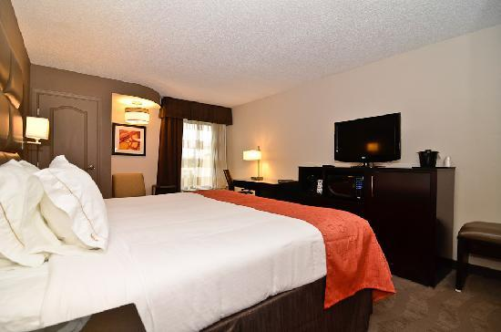 Holiday Inn Express Burlington: Elegant King Accommodations