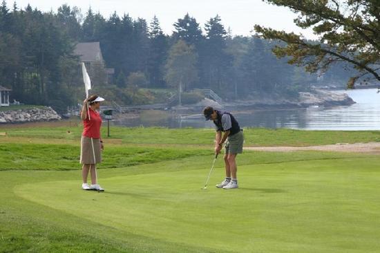 Sebasco Harbor Resort: Golf at Sebasco