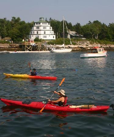 Sebasco Harbor Resort: Kayaking at Sebasco