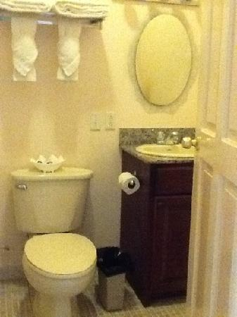 Sea View Suites: clean bathrooms