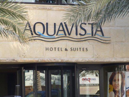 Aqua Vista Hotel & Suites: The Aqua Vista frontage