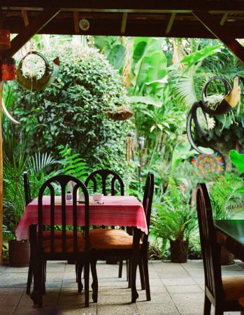 Hotel 1492 : The breakfast nook