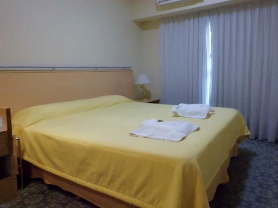 Intersur Suites: quarto