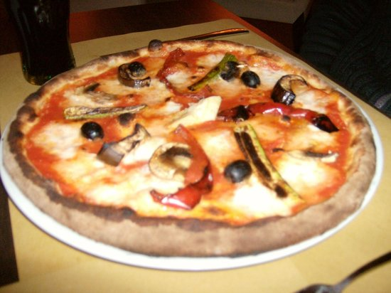Florens Pizzeria & Food: pizza verdure