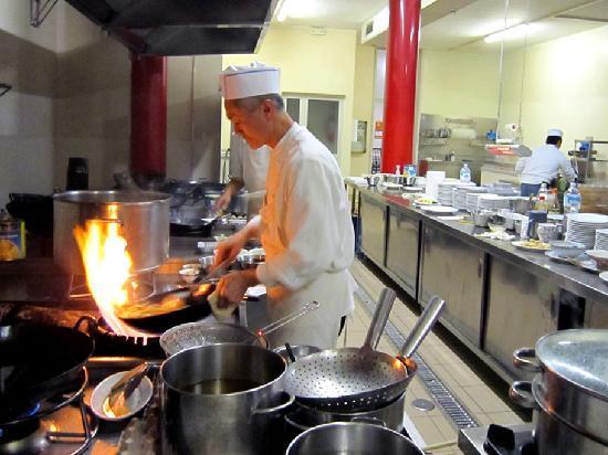 fu lu shou chef cucina