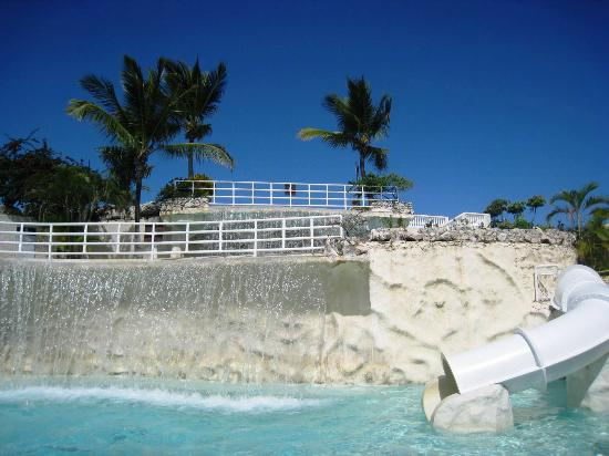 Cofresi Palm Beach Spa Resort Pool W Waterfall And Slide