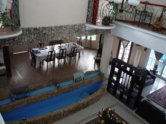 Mansion Giahn : salón-comedor