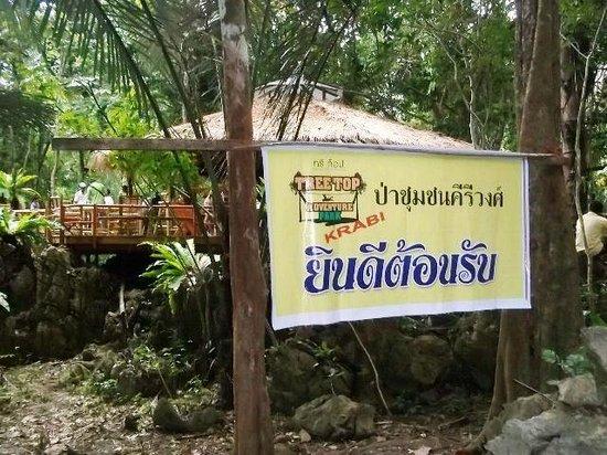 Tree Top Adventure Park Krabi: Welcome