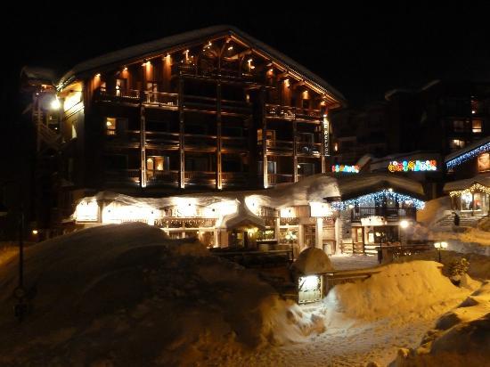 Hotel le Refuge : January 2012