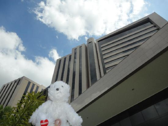 Hesperia WTC Valencia: Back side of building