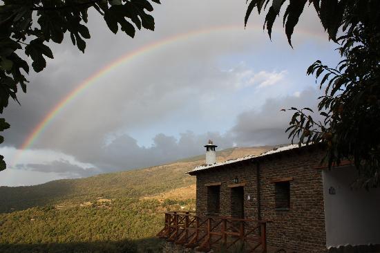 El CastaNar Nazari: El arco iris en el Castañar Nazari