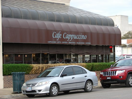 Cafe Cappuccino Waco Tx Menu