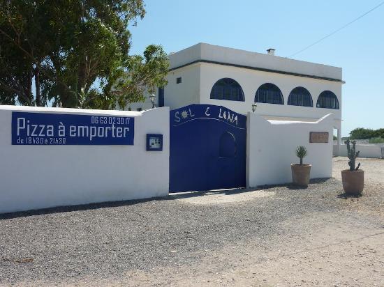Sol E Luna Hotel : L'entrée de l'Hotel !