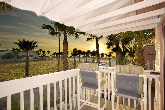 Inn on the Beach: Sunsets from your balcony