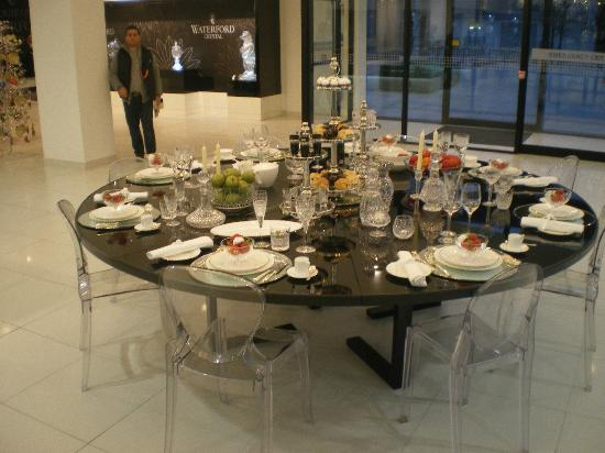 Table Settings - Picture of Waterford Crystal, Waterford - TripAdvisor