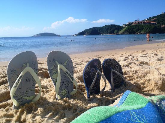 Rio Buzios Beach Hotel: La Playa