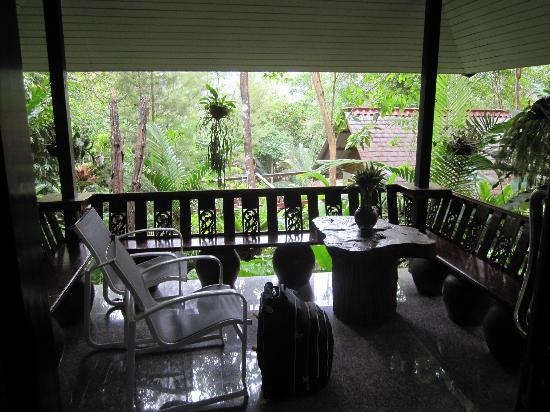 Khao Sok Las Orquideas Resort : Terrace