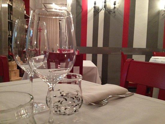 San Miniato, Italien: tavolo e parete