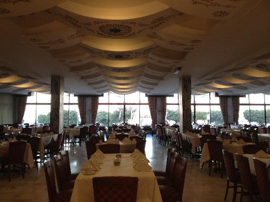 Eatabe Luxor Hotel: Restaurant where we had breakfast