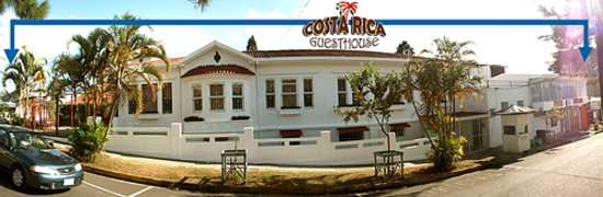 Costa Rica Guesthouse: Front building