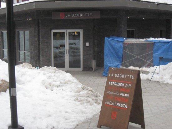 La Baguette: good place