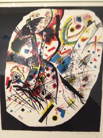 Pesce: Kandinsky lithograph
