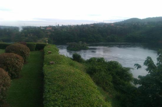 View of River Nile from Jinja Nile Resort