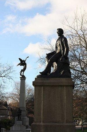 Ebenezer Elliott statue
