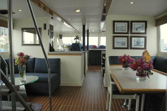 Santa Barbara, CA: comfortable, climate controlled interior