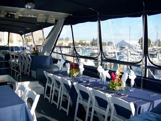 Celebration Cruises of Santa Barbara day trips: Sit Down dining for 35