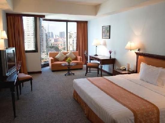 Tai-Pan Hotel: Tai_Pan Hotel Bedroom