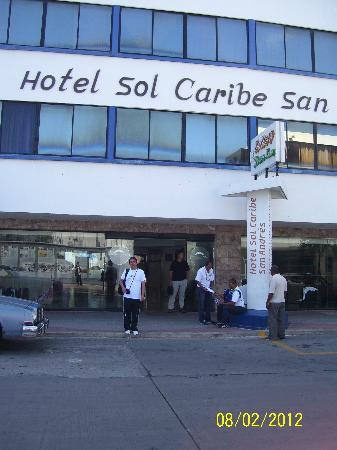 Sol Caribe San Andres: fachada