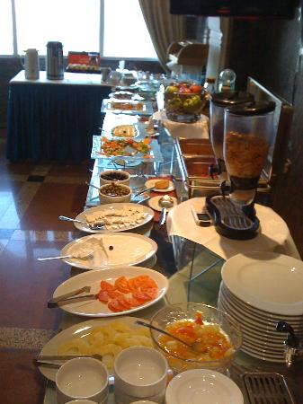 Al-Nakheel Hotel : Breakfast buffet