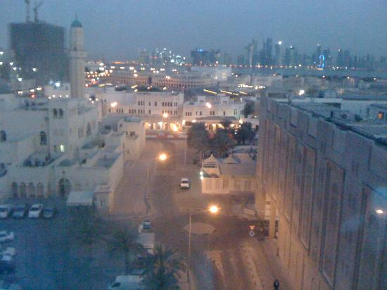 Al-Nakheel Hotel: View out the window