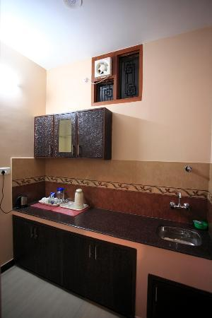 Jaipur Friendly Villa: Private mini kitchen