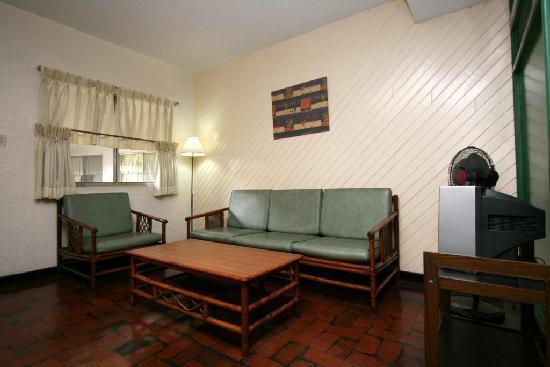 Broadway Court: One Bedroom Living Room