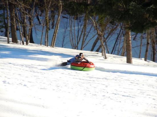Mountain Home Lodge: The sledding hill