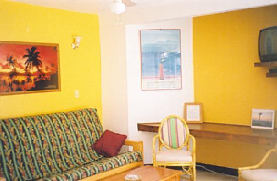 Playa Bonita Condo Suites: Living Room of Condos