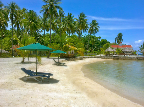 Sipaway, Philippines: Beach side