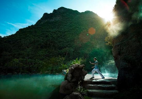 The Banjaran Hotsprings Retreat: Taichi Pratice