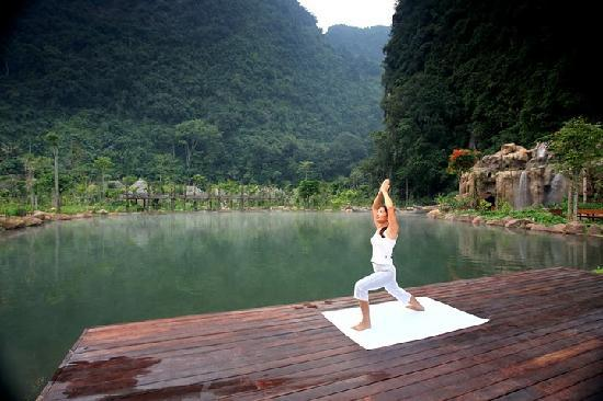 The Banjaran Hotsprings Retreat: Yoga by Yoga Deck