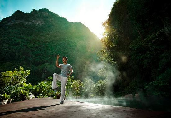The Banjaran Hotsprings Retreat: Yoga Practice
