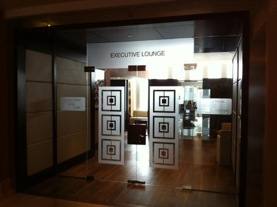JW Marriott Hotel Ankara: executive lounge
